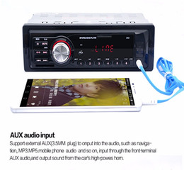Usb radio interface online shopping - 5983 Car Radio Auto Audio Stereo MP3 Player Support FM SD AUX USB Interface for Vehicle In Dash Din Input Receiver Device