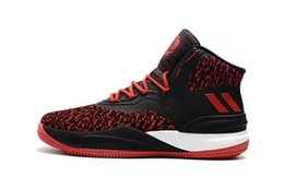 d47a35bdabbe D Rose 8 mens basketball shoes flywire black white red grey outdoor  basketball sports boots high quality sneaker size 40-46 d rose shoes men  for sale