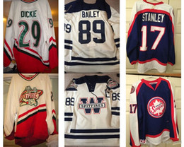 $enCountryForm.capitalKeyWord Australia - Customize OHL Windsor Spitfires Jersey Mens Womens Kids 29 Ryan Dickie 89 Josh Bailey White Hockey Cheap Jerseys Goalit Cut 2017 New