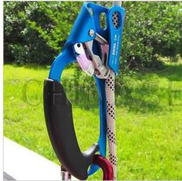 Klettersteig Klettersteig Klettersteig Klettersteig- und Abseilgerät Werkzeug Fallschutz Geräteschutz Handsteigbügel Jumar clamp jumat Handheld