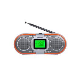 $enCountryForm.capitalKeyWord Canada - Wholesale-Degen DE23 AM FM Radio Portable FM-stereo MW SW DSP MP3 Player World Band Receiver Y0117H