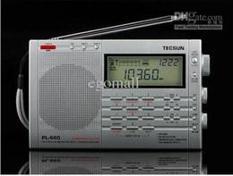 Sw Pack Australia - Wholesale-Tecsun PL660 Digital FM Radio AM FM SW Air SSB Radios Synchronous FM, MW, LW & SW Radio