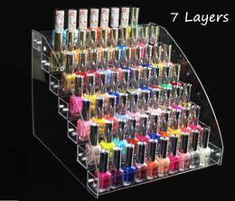 Lipsticks Racks NZ - Detachable 2 3 4 5 6 7 layers Multifunction Makeup Cosmetics display rack Organizer Lipstick Jewelry Display Stand Holder Nail Polish Rack