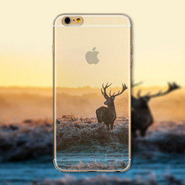 Phone Cases For Iphone 5c NZ - For iPhone 6s 6 Plus 5s 5c 5 4s 4 Case Clear Soft TPU Cover Scenery Case Bohemia Phones Shell