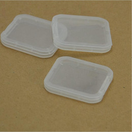 sd cf adapter Australia - CF TF XD SD Card Plastic Case box new arrival and good quality very popular