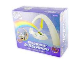 Arco-íris levou arco-íris projetor lâmpada lâmpada romântica luz da estrela do dia dos namorados presente de aniversário para homens e mulheres amigos