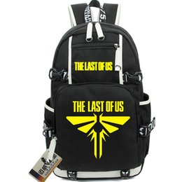 Virtual Games Canada - The last of us backpack Virtual play school bag PS3 daypack Game schoolbag Outdoor rucksack Sport day pack
