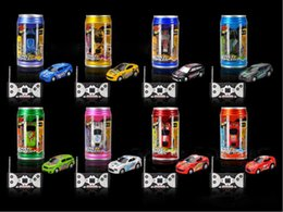 racing battery box 2018 - Free Epacket color Mini-Racer Remote Control Car Can Mini RC Radio Remote Control Micro Racing 1:64 Car 8803 children to