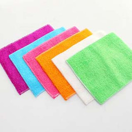 Wholesale 2018 Selling Korean Daily Bamboo Fiber Washing Towel Cloth Non stick Oil Double layer Cleaning Thickening Wiping Manufacturers