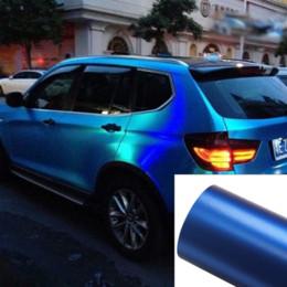 wrap car pvc film 2019 - 200MM*300MM Car Styling PVC Vinyl Wrap Ice Blue Sticker Decorative Auto Film Sheet Vehicle Stickers wholesale cheap wrap