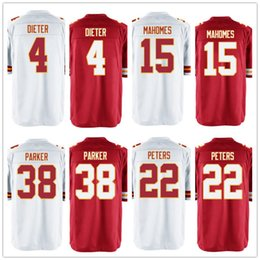 ... Elite Black Alternate Jersey Mens Custom Jersey 22 Marcus Peters 4 Nick  Foles 15 Patrick Mahomes 38 Ron Parker Wholesale ... 7ed5d0bc4