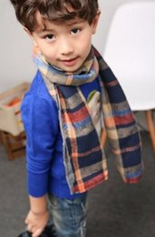 $enCountryForm.capitalKeyWord Canada - The new Korean edition of the 2016 autumn winter children's plaid scarf is a simple and one-piece scarf for men and women