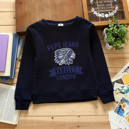 Cheap Sweatshirts Wholesale Canada - Wholesale- 2016 kids clothes hot hoody for girls for boy children's sweatshirt moleton infantil sports suit svitshot cheap wj052