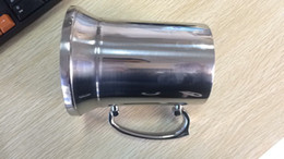 stainless steel beer mugs UK - 36pcs lot High quality mirror 450ml Double Wall stainless steel tankard,stainless steel beer mug,stainless steel stein