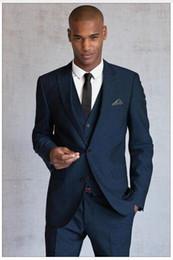 Discount Navy Blue Suit Waistcoat | 2017 Navy Blue Suit Waistcoat ...