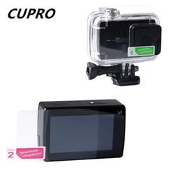 Discount xiaomi yi accessories waterproof - Wholesale-LCD Screen Protector for Xiaomi Yi 4K Camera Accessories Waterproof Housing Case Lens Protective Film for Xiao