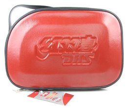 Tables Low Price Australia - Low price DHS RC302 RC303 RC304 (RC-302 RC-303 RC-304) Sky Hard Leather Table Tennis Tennis Racket Cover ping pang bags