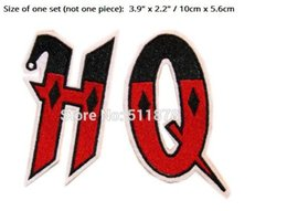 Joker patches online shopping - 3 quot HQ Harley Quinn DC Batman Comic Villain patches Gotham Joker Jester Animated Movie TV Series Embroidered iron on clothing