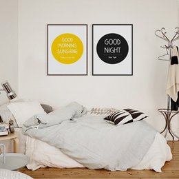 Art Canvas Prints Australia - Modern Minimalist Motivational Life Quote A4 Art Print Poster Typography Wall Picture Nordic Home Decor Canvas Painting No Frame