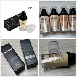 wholesalers nyx cosmetics 2018 - 120pcs New Popfeel Liquid Concealer Foundation Flawless Foundation New Arrivals Cosmetics Makeup Foundation VS NYX Found