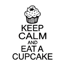 $enCountryForm.capitalKeyWord NZ - New Style For Keep Calm And Eat A Cupcake Funny Car Styling Decal Vinyl Sticker Jdm Accessories Graphics Decor