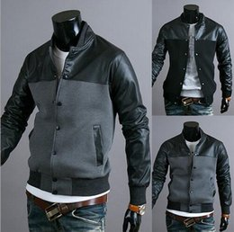 Crystal Designs Canada - sell like hot cakes Men 's casual fight leather design men' s jacket jacket - J03
