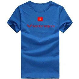 $enCountryForm.capitalKeyWord Canada - Vietnam T shirt Track and field sport short sleeve Cheer mission tees Nation flag clothing Unisex cotton Tshirt
