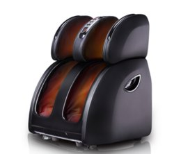 Massage De Veau Pas Cher-Massager électrique vibrant pour les pieds Chauffage infrarouge Jambe du genou Cuisse de veau Dispositif de massage Pression de l'air Massagem Soulagement de la douleur