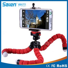 octopus tripod stand phone holder NZ - Car Phone Holder Flexible Octopus Tripod Bracket Stand Mount Monopod Styling Accessories For Sony Mobile Phone Samsung Camera
