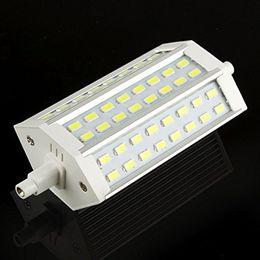 Dimmable Energy Saving Bulbs Australia - Dimmable R7S 118mm 48 LED 5730 SMD White Warm White Energy Saving Floodlight Corn Light Replace Lamp Bulb 85-265V