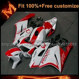 Rr Motorcycles Canada - 23colors+8Gifts Injection mold white RED motorcycle cowl for HONDA CBR1000RR 2004-2005 CBR1000 RR 04 05 Bodywork Set ABS Plastic Fairing