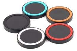 $enCountryForm.capitalKeyWord Canada - High Quality 5 Colors Universal Qi Wireless Power Charging Charger Pad For Mobile Phone for iPhone 6 Samsung High Quality