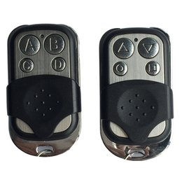 Gate controllers online shopping - mhz RF Remote Control Copy code cloning Electric gate duplicator Key Fob learning garage door controller