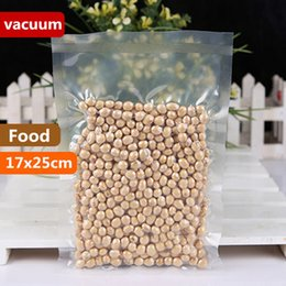 NyloN plastic seal online shopping - 17x25cm mm Vacuum Nylon Clear Cooked Food Saver Storing Packaging Bags Meat Snacks Hermetic Storage Heat Sealing Plastic Package Pouch