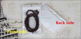 $enCountryForm.capitalKeyWord NZ - 14*17cm,100 X White translucent BOPP pearl film ziplock bag - Reusable film plastic pouch Front clear, Zipper self-sealed sachet