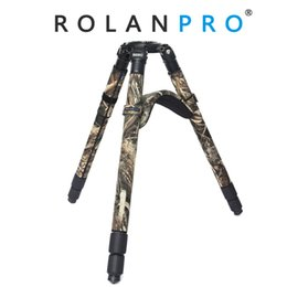 Chinese  ROLANPRO No Axis Tripod Special Shoulder Pads Protective Sleeve Sets of Feet Tripod Shoulder Pads Camera Guns Clothing For GITZO Benro manufacturers