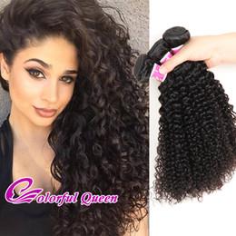 $enCountryForm.capitalKeyWord Australia - Malaysian Kinky Curly Virgin Human Hair Weave 3 Bundles 300g Set Natural Black Kinky Curly Human Hair Weft for Black Women Micro Braids