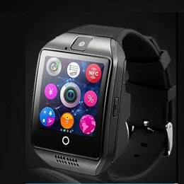 $enCountryForm.capitalKeyWord Canada - Q18 Bluetooth Smart Watch Support SIM Card NFC Connection Health Smartwatches For Android Smartphone with Retail Package