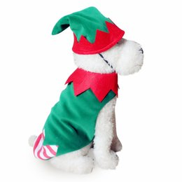 halloween costume santa Australia - 2017 Halloween Christmas fashion dog Cosplay clothing suit cosplay spider pumpkin skull santa suit for pet free shipping