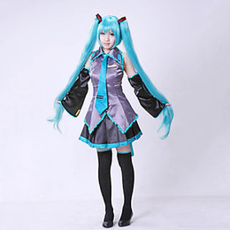 Vocaloid christmas costumes online shopping - Hatsune family future VOCALOID cosplay anime costume wig suit fashion spot new women cute cosplay costume