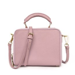 Vintage saddles online shopping - 2017 fashion trend of the first layer of leather small square bag retro wind shoulder oblique cross leather handbags