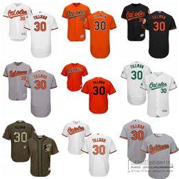 9dbd4dd2d2a ... Mens Baltimore Orioles Jerseys 30 Chris Tillman Baseball Jerseys  Vintage Flexbase Cool Base White Orange Black .