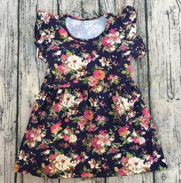 $enCountryForm.capitalKeyWord NZ - Kids frock design dress for girls' cotton flutter sleeveless tunic wholesale baby children summer party dress