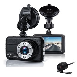 $enCountryForm.capitalKeyWord NZ - Dual Car Camera DVR 1080P Car Recorder Dvr 3 inch 150 Degree 6 Led Dashcam Two lens Dash Cam Dvrs car dvr Night Vision Auto Video Dashcam