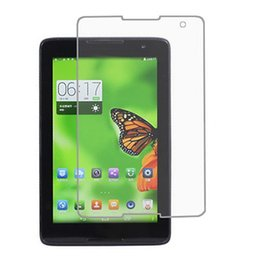 """Screen Lenovo Tablet Lcd NZ - Wholesale- 5pcs lot PET Clear LCD Front Screen Protector Guard Film For Lenovo Ideatab A8-50 A5500 A5500-F A5500-HV 8"""" Tablet PC"""