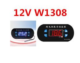 $enCountryForm.capitalKeyWord Canada - 10pcs lot W1308 DC12V Temperature temp Controller Adjustable Cool Heat Sensor Thermostat Switch for greenhouse Planting