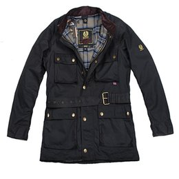 Chinese  Fall-hot! vintage brand International wax cotton man jacket men waterproof coat male waxed motorcycle outerwear good quality on sale manufacturers