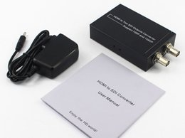 Discount 3g box - Professinal HDMI to 2 SDI output hdmi to 3G SD HD-SDI converter with 2 Channels HD SDI Output HDMI to SDI Converter with