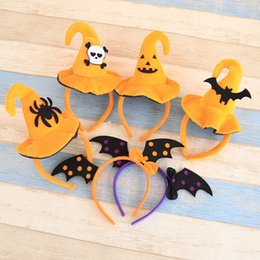 Petits Accessoires Pour Cheveux Pas Cher-Props Witch Hoop Hairband Little Hat Headband Mini Hair Hoop pour Halloween Party Jewelry Fantastic Festival Hair Accessoires 0601667