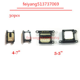 wholesale speaker repair NZ - 30pcs Original NEW Earpiece Ear Speaker Sound Flex Cable Repair Parts for iPhone 7 4.7 inch 7 plus 5.5inch